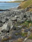 Basalt columns at Hofsós.